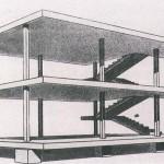 Maison Domino de Le Corbusier