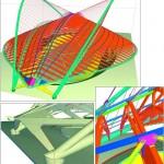 Modelització del velòdrom olímpic d'Atenes