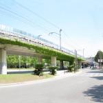 Estado actual del viaducto de Girona
