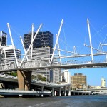 Keneth Snelson. Kurilpa Bridge, Brisbane (Austràlia)