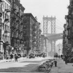 """""""Pike and Henry Streets, Lower East Side, 1936"""". Fotografía de Berenice Abbott, de fecha muy próxima a la estancia de Lorca en Nueva York."""