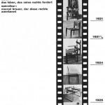 """BREUER, Marcel. """"ein Bauhaus-film"""". Bauhaus 1, 1926."""