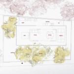 Planta de la casa N de Sou Fujimoto