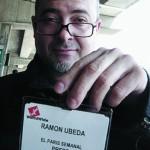 Ramón Úbeda en Nueva York. Fotografía: Pepa Reverter