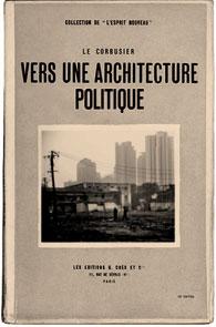 Vers une architecture politique. Fotomontaje de Manuel Julià.