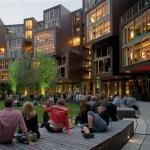 Residencia de estudiantes en Copenhague, de Lundgaard y Tranberg.
