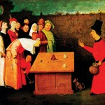Fig.1 - The Conjurer - Hyeronymus Bosch