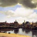 Fig.6 - Vermeer -Gezicht op Delft