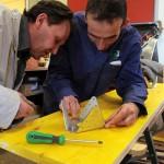 Curro Claret - Pieza taller Fundacio Arrels