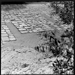 Detalle del camino de subida al Monte Philopappou, 1954-1958. Dimitris Pikionis. ANA-67-55-80. (Fuente: Archivo Dimitris Pikionis, Benaki Museum Athens)
