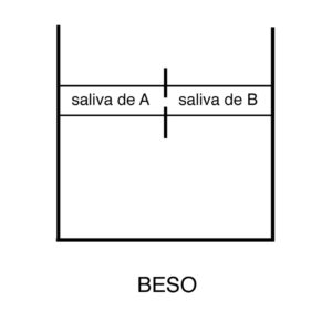 David Bestué - Beso (diagrama) - 2012