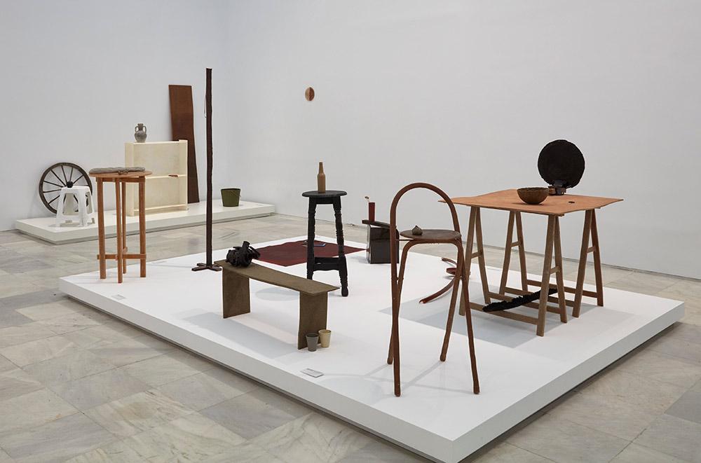 David Bestué - Rosi Amor, exposició al Reina Sofia. Madrid, 2017. Fotografia. Joaquín Cortés/RomanLores