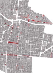 Afectacions de vial al barri de Gràcia