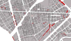 Afectacions de vial al barri de Sants