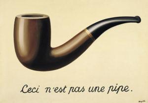 La trahison des images (1928-29),de René Magritte (Fuente: LACMA).